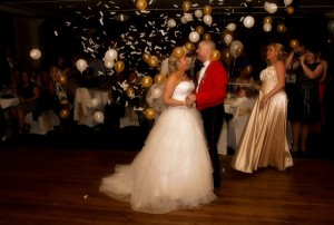 1st dance at lion quays oswestry photography
