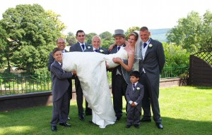 fun and relaxed wedding photography in Wrexham, Chester and shropshire