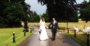 Quiet time for bride and groom at Wrexham and Chester weddings