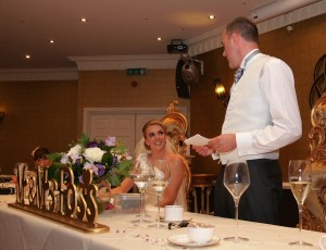 Wedding day speeches Wrexham and Chester