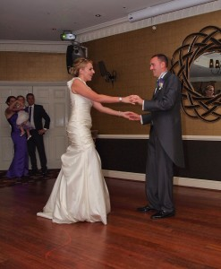first dance as Mr & Mrs