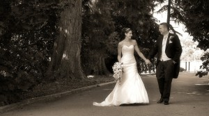 Romantic shots at Wrexham Weddings with Grays Photography & True Reflections