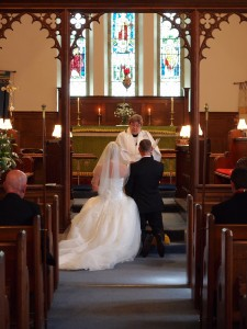 Church ceremony - photography by Grays