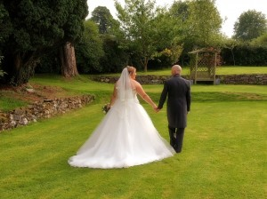 Romantic wedding photography at Plas Isaf, Corwen