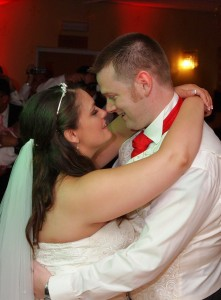 first dance in Llangollen hotel