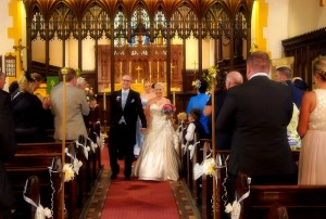 Stunning church weddings