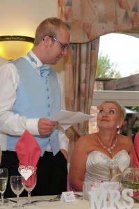 Wedding breakfast Lion Quays, near Oswestry