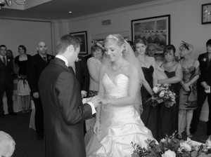 Wedding Ceremony at Wynnstay Oswestry