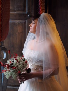 Bridal shots in North Wales Castles