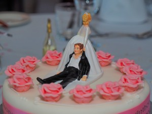 Wedding cakes north wales