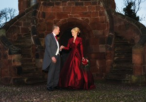 Romantic wedding photography Shrewsbury