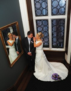 Romantic Wedding photographer for Ruthin Castle Weddings